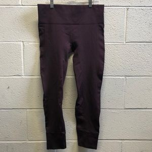Lululemon burgundy legging, sz 10, 62788